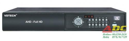 Đầu ghi hình HD-TVI 8 kênh VDTECH VDT-3600TVI/ 1080P